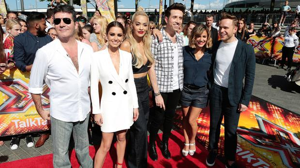 Simon Cowell backed The X Factor at the Music Industry Trusts Award