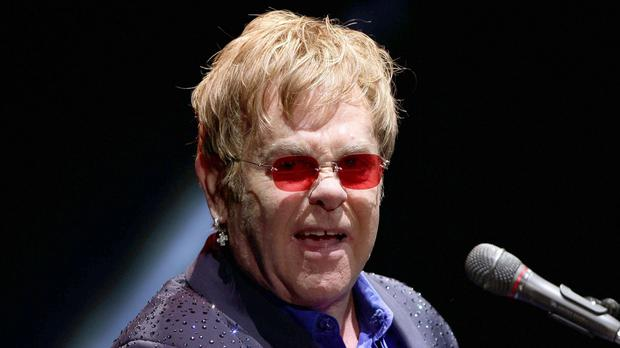 Sir Elton John blasted politicians in Northern Ireland over same-sex marriage