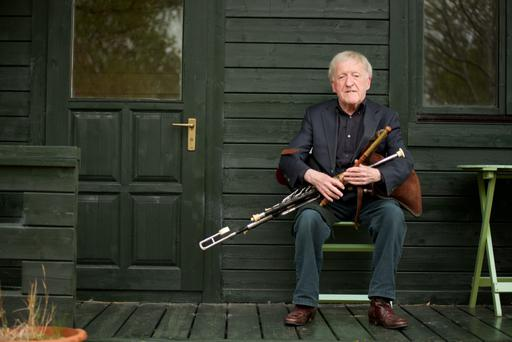 Pipe dream: Paddy Moloney of the Chieftains is the subject of an RTÉ documentary tomorrow at 9.30pm