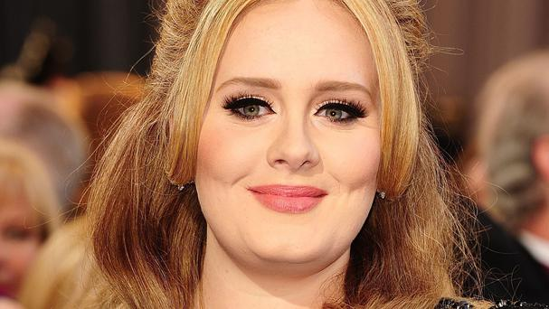 Adele has almost 24 million Twitter followers