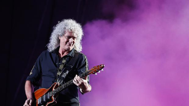 Brian May of Queen.