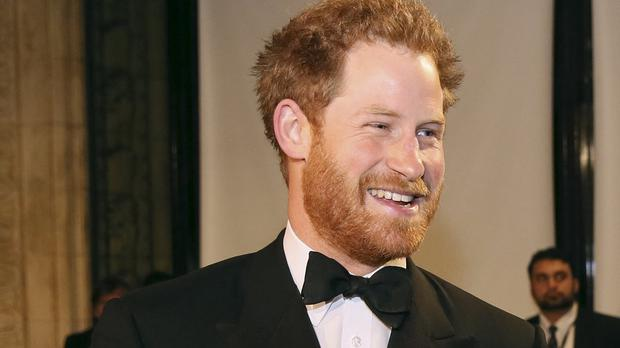 Prince Harry arrives at the Royal Variety Performance at the Albert Hall in London