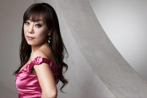 Korean soprano: Sumi Jo, who has performed at the Olympics, was born on St Cecilia's Day
