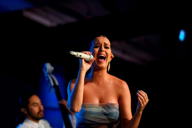 Gender imbalance: The book examines how male producers have been writing about female empowerment for stars like Katy Perry.