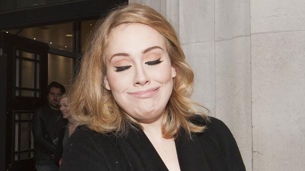 Adele's new album 25 reached 300,000 sales by midnight on its first day