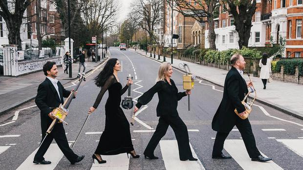 The work was recorded at Abbey Road