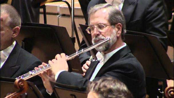 Retired: Andreas Blau performs with the Berlin Philharmonic Orchestra