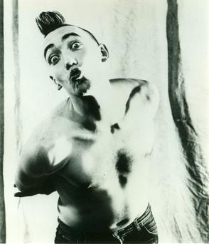 BRIGHT LIGHTS: Mick Lynch in a Stump publicity shot from 1988.