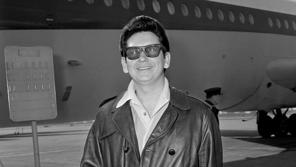 Roy Orbison had a guitar before he had a pair of shoes, according to his son