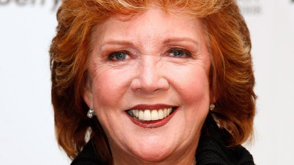 TV presenter and singer Cilla Black