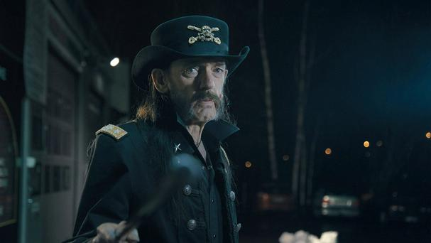 Motorhead frontman Lemmy starring in a milk advert filmed less than a month before he died (hasan and partners/PA)