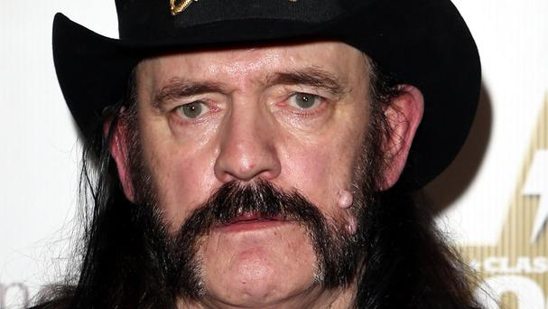 Motorhead singer Lemmy is being laid to rest in Los Angeles