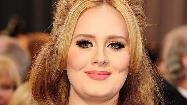 Adele has not been nominated for a Grammy this year