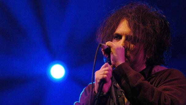 The Cure frontman Robert Smith said the band are 'very, very happy' to be headlining this year's Bestival