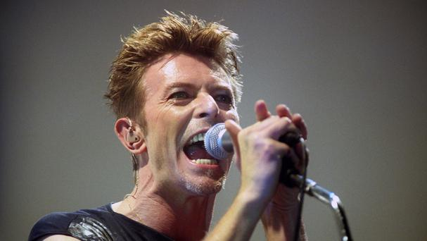 The late David Bowie has dominated this week's album chart