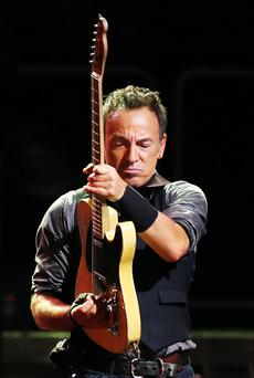 Born to gig: Springsteen's name has become a byword for superior live performances.