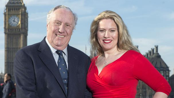 Novelist Frederick Forsyth has penned the words to a song performed by Royal Opera House soprano Melissa