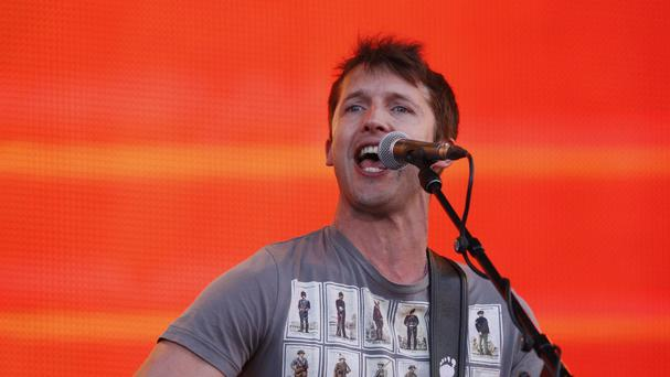 James Blunt has been given an honorary degree by the University of Bristol