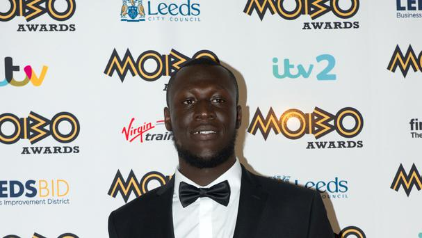 Stormzy hit out at the Brits