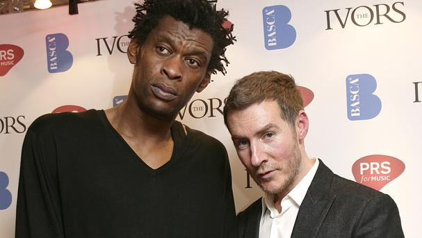 Daddy G (left) and Robert Del Naja of Massive Attack