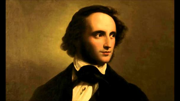 The programme featured mainly Felix Mendelssohn