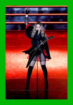 Madonna performs during her 'Rebel Heart' Tour at Allphones Arena, Sydney on March 19