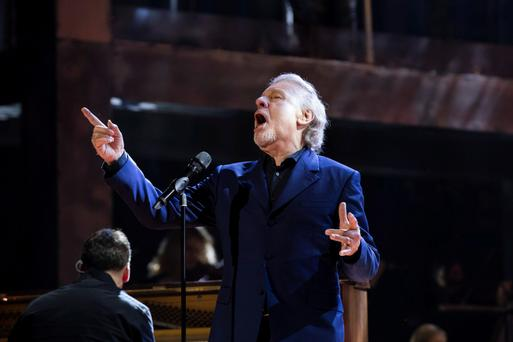 Colm Wilkinson performs U2's 'One' for RTE's Centenary concert on Easter Monday.