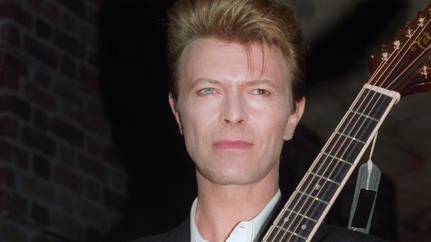 The late David Bowie continues to make his presence felt in the album charts