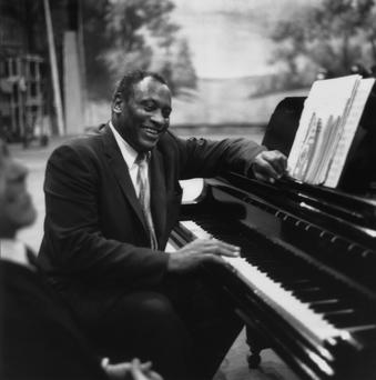 Rich bass: Paul Robeson