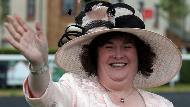 Susan Boyle was due to fly to Scotland when police were called to reports of a woman in distress in an airport lounge at Heathrow