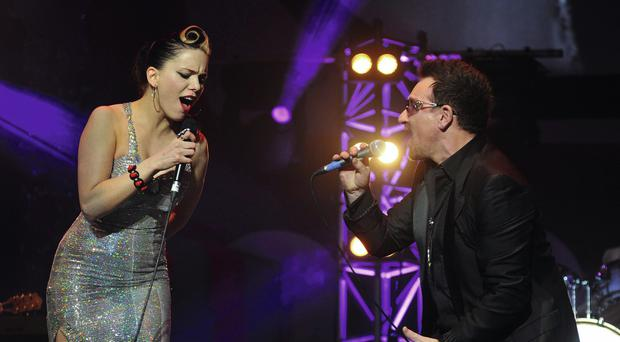 Imelda May says Bono has been a mentor through the breakdown of her marriage to Darrel Hignam