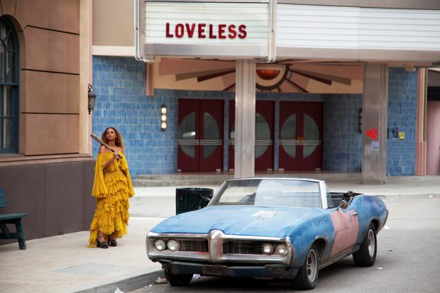 Beyonce in a scene from her Lemonade video