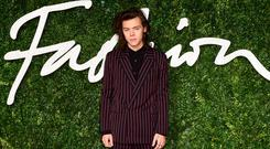Harry Styles at the British Fashion Awards