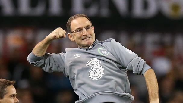 Martin O'Neill and the Republic of Ireland are heading to France