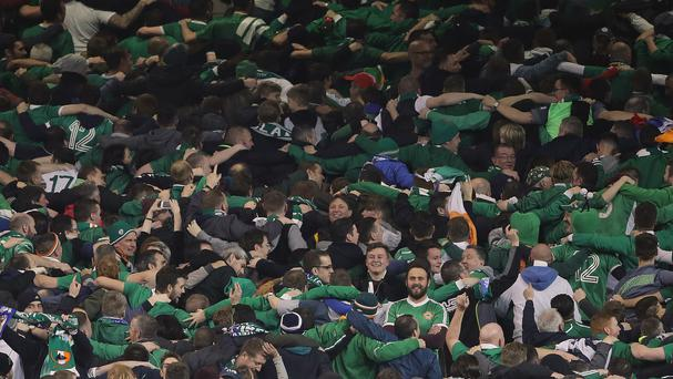 Republic of Ireland fans will be singing in Irish during Euro 2016