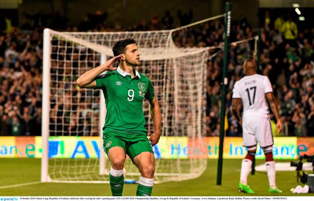 Pitch perfect: Will Ireland's Shane Long be listening to Seo Linn's 'The Irish Roar' sung from the terraces in France?