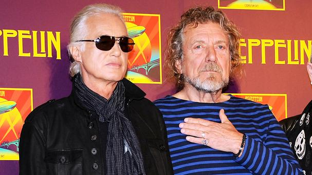 Jimmy Page and Robert Plant are accused of