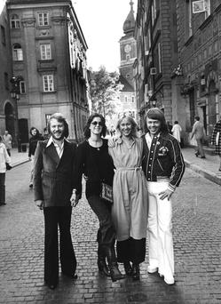 Thank you for the music: Abba in 1975.