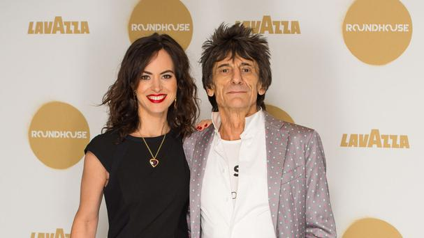 Ronnie Wood and his wife, Sally, welcomed Gracie Jane and Alice Rose on June 1.