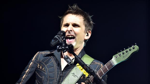 d3dcd475bfe79 Matt Bellamy of Muse performing at the Glastonbury Festival, at Worthy Farm  in Somerset