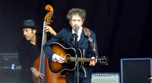 Bob Dylan playing Nowlan Park in Kilkenny. Photo: Dylan Vaughan.
