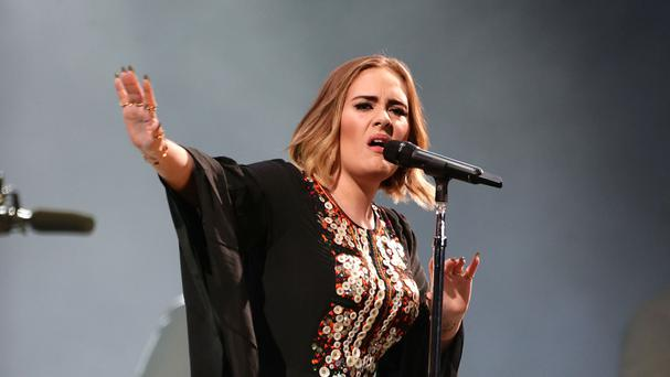 Adele takes the Glastonbury stage for rousing 15-song headlining performance