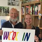 Prior to the referendum, Glastonbury Festival organisers Michael Eavis and his daughter Emily showed their support for the Remain campaign (Glastonbury Festival/PA Wire)