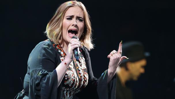 Adele is back at number one on the Official Albums Chart following her triumphant performance at Glastonbury