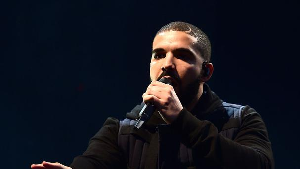 Rapper Drake has been at the top of the charts for 12 weeks