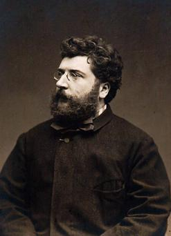 A tale of everyday folk: Carmen, the opera, was composed by Bizet.