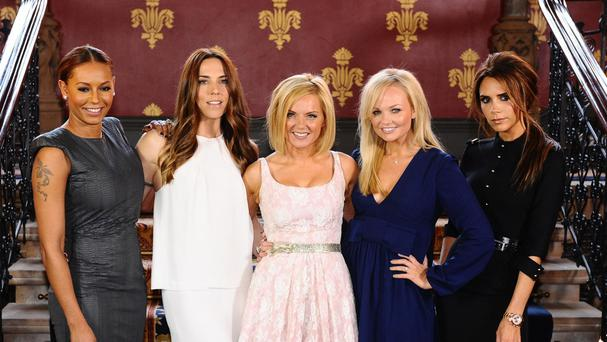 Three of the original five, Melanie Brown, Geri Horner and Emma Bunton, have recorded new material