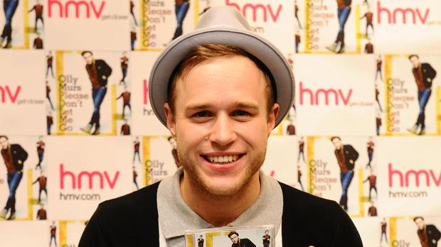 Olly Murs said his family difficulties have taken their toll on his mum