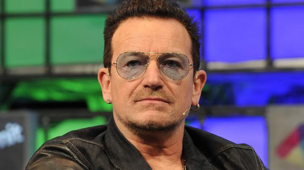 Bono has spoken out against Donald Trump