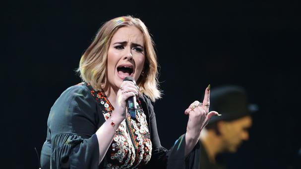 Adele was performing in Vancouver